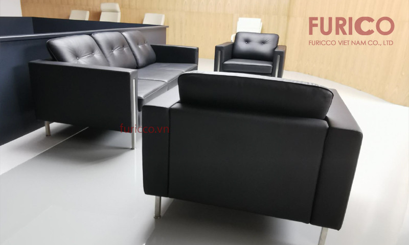 Ghế sofa da bò