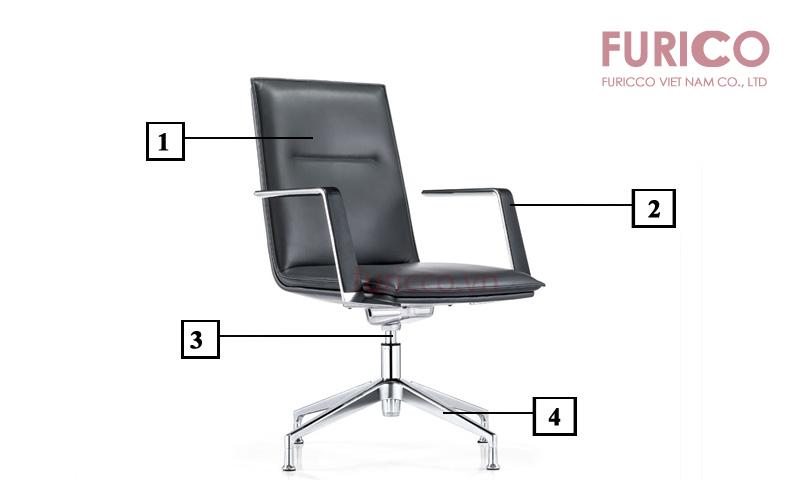 Cấu tạo ghế phòng họp