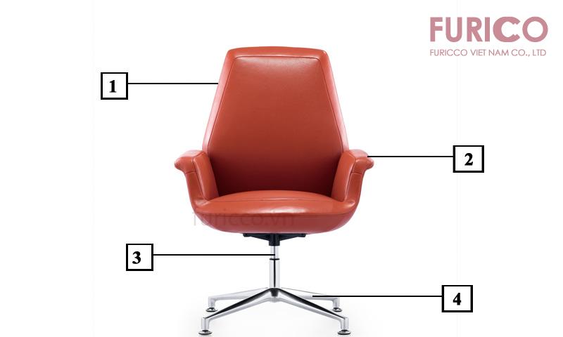 Ghế dành cho phòng họp cao cấp